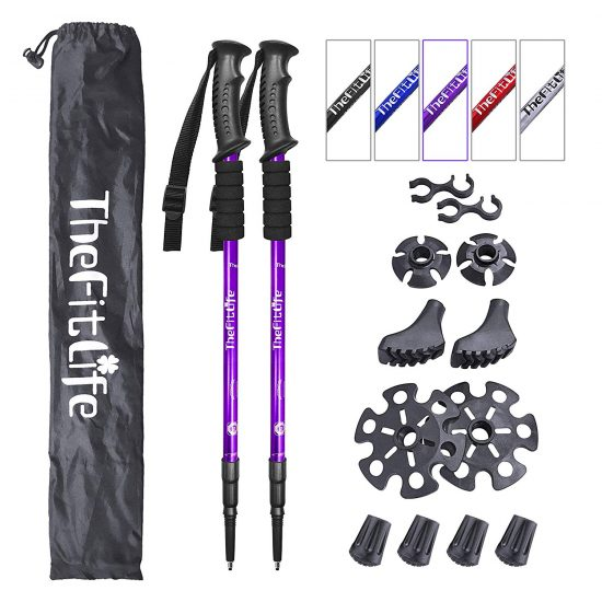 TheFitLife Poles-Purples-GB